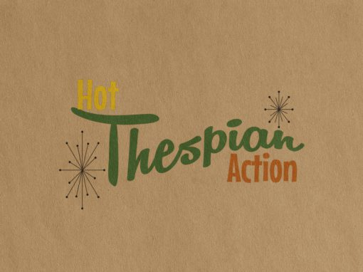 Hot Thespian Action Tour Logo