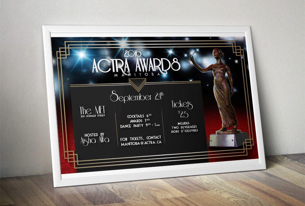 Actra Awards Poster