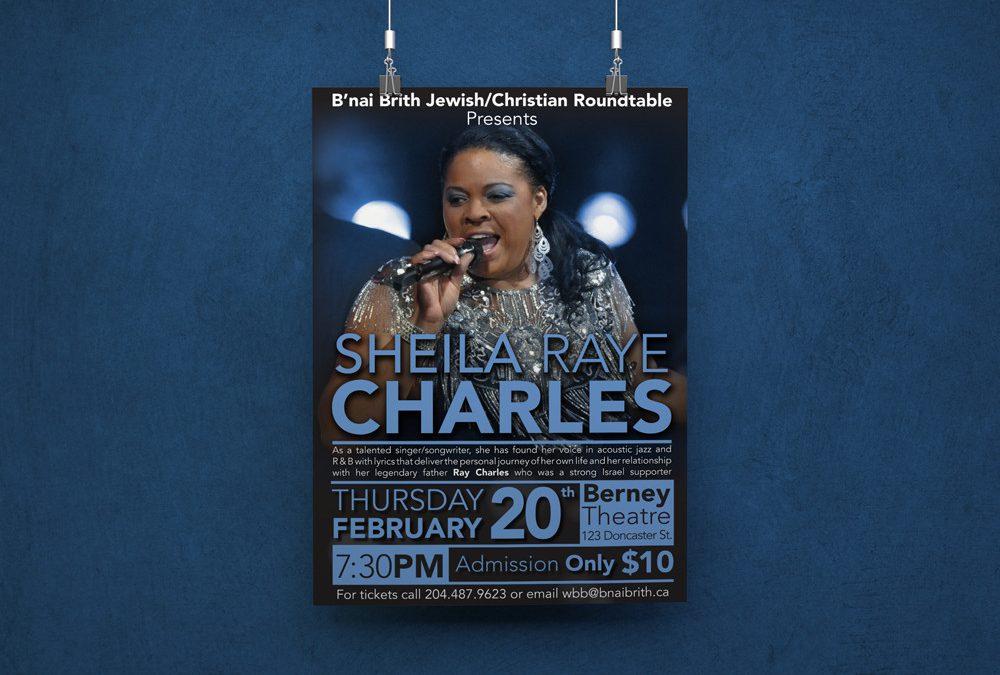 B'Nai Brith Concert Poster