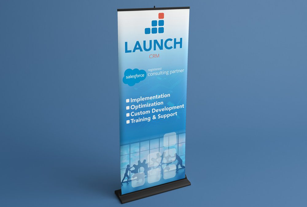Launch CRM Stand Up Banner